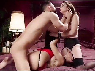 Mother trains new bride as anal slave