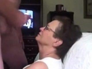 Face cum shot for granny