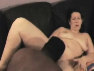 Mature girl gets her cunt eaten by a dark man that is huge