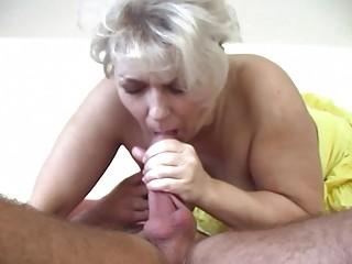 Russian Electrician Fucks An Old Fat Blonde Slut