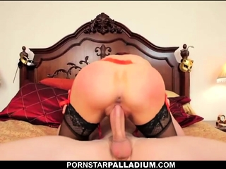 Well-endowed redhead milf sucks detect with the addition of fucks