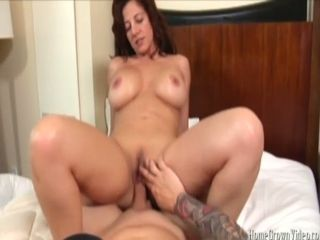 Smashing a buxomy dark haired cougar in front of her hubby