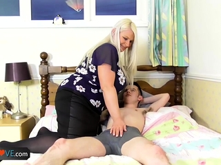 AgedLovE xxx bang-out with big-boobed nymphs