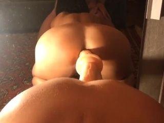 Allenamento anale con la mia cougar sempre calda