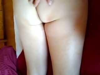 My Polish wife really likes it when I caress her ass and legs