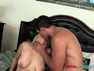 Mature Blonde Carla Loves Getting