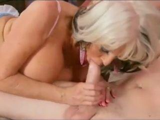 Grandmother pummeled and internal ejaculation