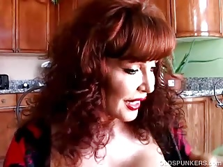 Spicy old latina loves to think of you as she has a wank