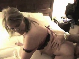 Sexy mature group with resort manager