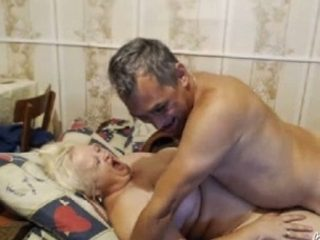 Horny neighbours having passionate sex in front of camera