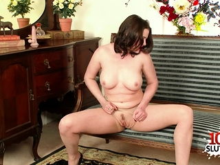 Hot pornstar copulation nearly cumshot