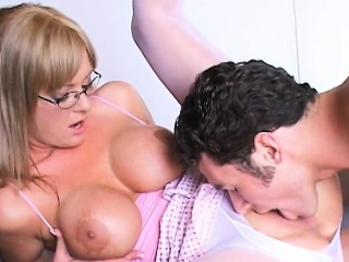 Big Tits Blonde MILF Teacher Fucked Allison Kilgore