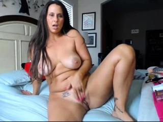 Bodacious milf housewife with rosy taut fuckbox and yam-sized ti