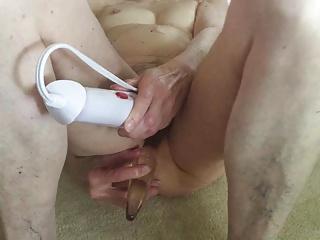 Floor orgasm