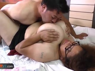 AgedLovE obese pair Matures Compilation
