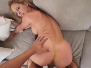 Cougar trains assfuck three way Cherie Deville in inseminated By