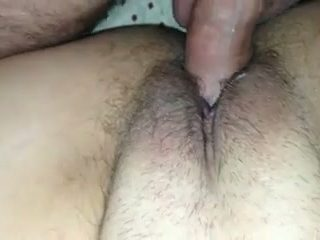 I enjoy drilling wet pussy of my sweet and horny a bit pale wife