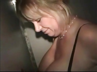 Slut Mom Visits a Glory Hole