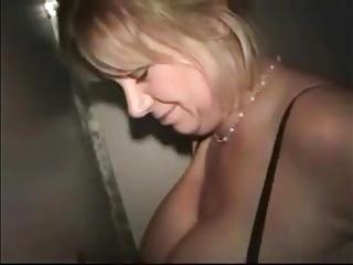 Slut Mom Visits a Glory Hole