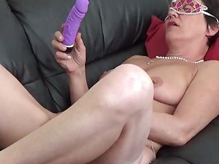Mature masturbation and orgasm