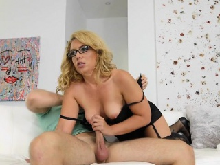 Mature Slut Stevie Lix Sucks And Fucks Pool Boy