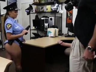 Amateur slut wife cuckold Fucking Ms Police Officer