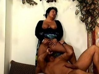Attractive brunette milf with big breasts Tracy needs to get pounded