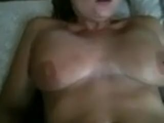 Wifey gets ducked in her booty