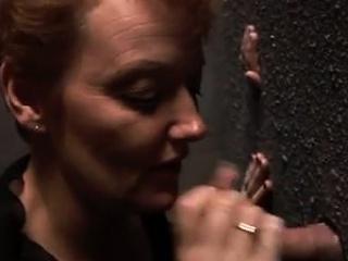 Redheaded mummy at the Gloryhole