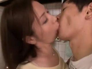 Stranger Japanese ungentlemanly Chisato Shouda all over Hottest JAV flick