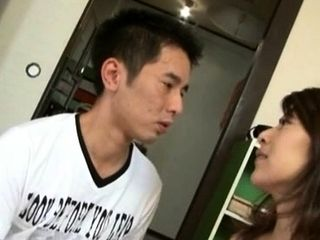Heavy asian grown up sucks gives boob be captivated by together with rides penis licentiously