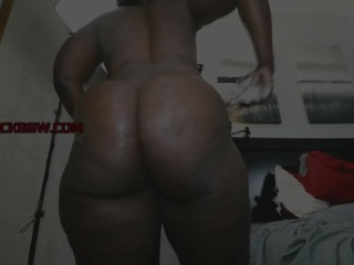 Fat bum CHOCOLATE cougar