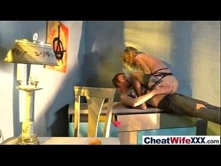 Sex Tape With Amazing Cheating Housewife (kleio valentien) video-20