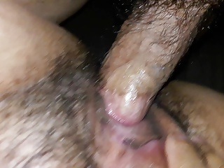 hairy mexican wife 2 ways with cervical juice 2