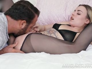 Anna Claire Clouds Gets Her Twat Eaten And Well-Prepped To Penetrate