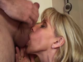 Guy CUMs Twice During A Blow-Job
