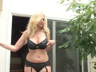 Astounding pornographic star Julia Ann in super-sexy ginormous breasts, pussy eating hard-core episode