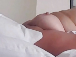 Wife having a orgasm.