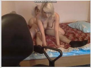 Amateur Russian Mature Fucking on webcam