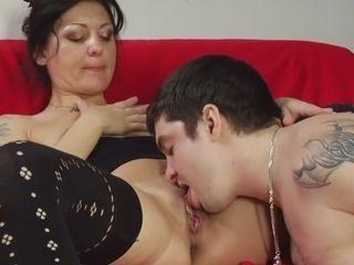 Finest pornographystar in uber-sexy mummies, black-haired pornography flick