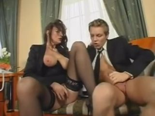 Astounding Office romp With Mature chick