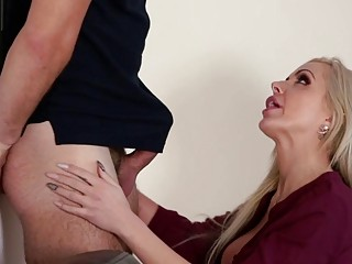 Cody is jamming his step moms milf pussy