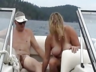 sharing on the boat