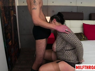 Chunky knockers milf hardcore increased by cumshot