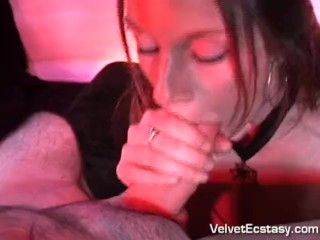 Chesty knocked up Witch does blow-job & Tittyfuck & facial cumshot