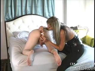 Prostate Massage By A Hot Blonde