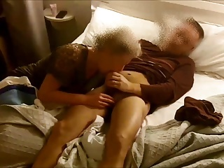 Compilation of my wife sucking my dick - hidden cam