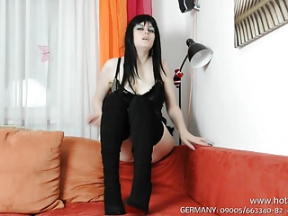 Boots Stiefel Dirtytalk Pussy Fotze German JOI Deutsch
