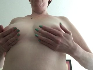 Carrying-on close to my breast