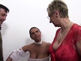 XxxOmas - German Milfs In Hardcore Amateur Threesome